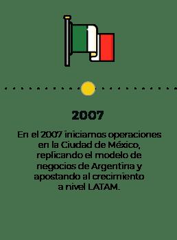 timeline 2007